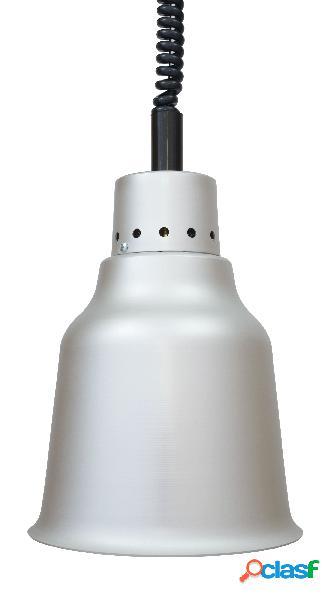 Lampada riscaldante in alluminio - diametro 190 mm - luce