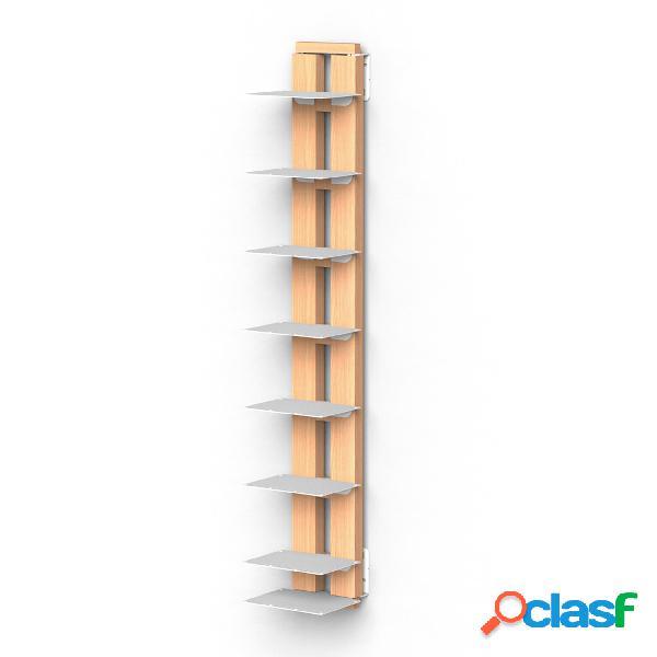 Libreria verticale Fissaggio a PARETE SOSPESA ZIA ORTENZIA