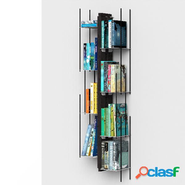 Libreria verticale Fissaggio a PARETE SOSPESA ZIA VERONICA