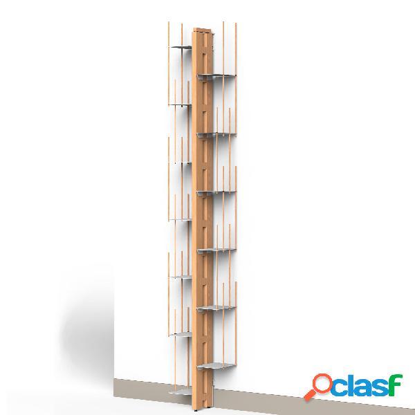 Libreria verticale Fissaggio a PARETE ZIA VERONICA 20x32xh