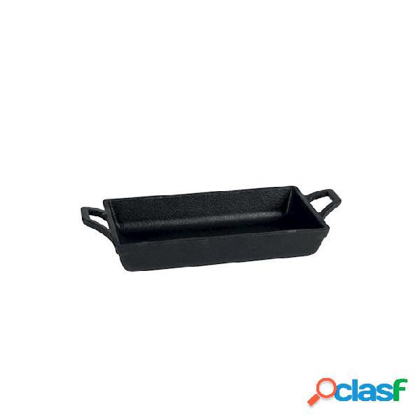 Mini Casseruola Rettangolare In Ferro Fuso Cm 18X9,5X3,5