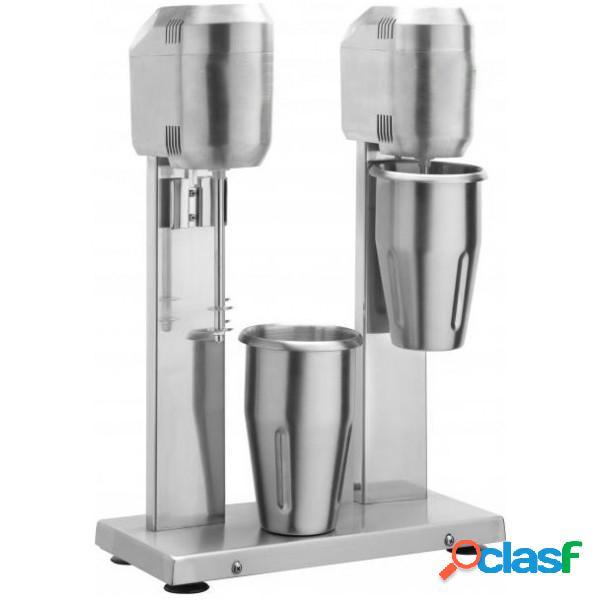 Mixer Frappè 2 bicchieri in acciaio inox - potenza 400 +