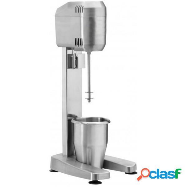 Mixer frappè 1 bicchiere in acciaio inox - potenza 400 W -
