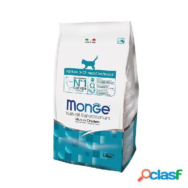 Monge - Monge Kitten Con Pollo Per Gattini Sacco Da 1,5 Kg