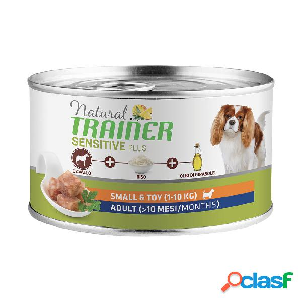 Natural Trainer Dog Sensitive Plus Small&Toy Adult con