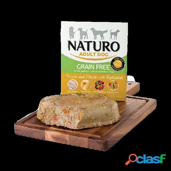 Naturo - Naturo Grain Free Umido Per Cani Adulti 8x400 Gr