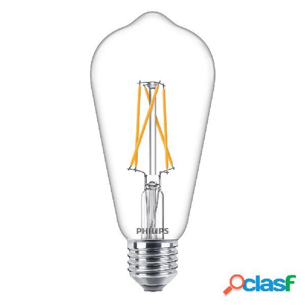 Philips Classic LEDbulb E27 Edison 8.5W 827 Chiara   Extra