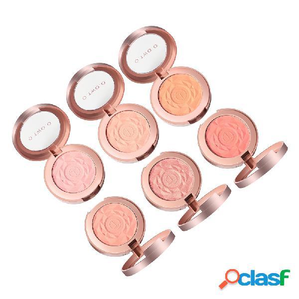 Rose Makeup Blush Long-Lasting Face Blush Facile da colorare