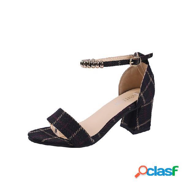 Scarpe donna decoltè tacco alto con fascia aperta | Posot Class