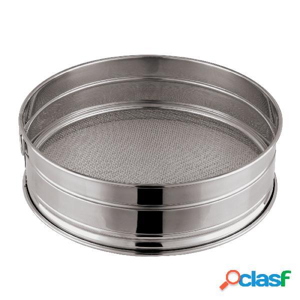 Setaccio Per Pasticciere Cm 22 Inox, peso 0,44 kg