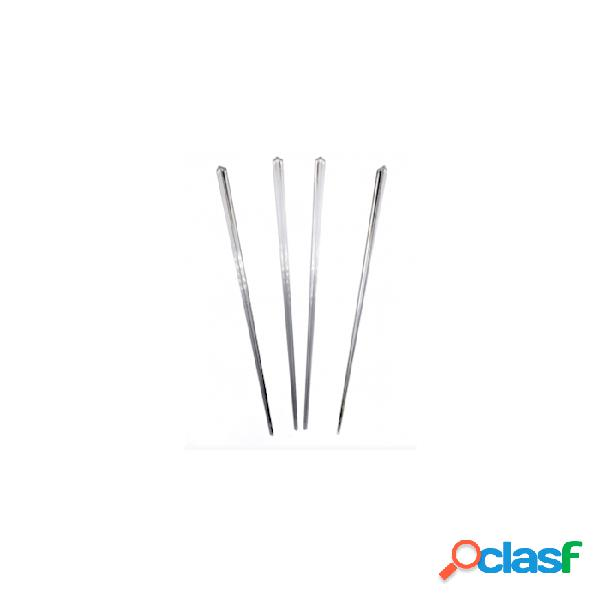 Stecchi Pick Diamond In Plastica Trasparente Cm 11,5 -