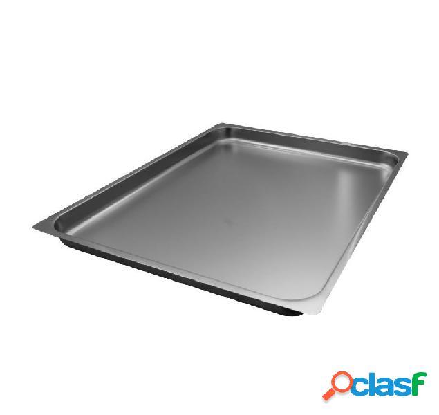 Teglia per forno a gas - dimensioni 530 mm x 530 mm x 40 mm