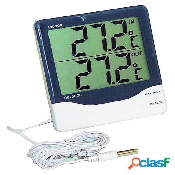 Termometro digitale con doppio display e due temperature