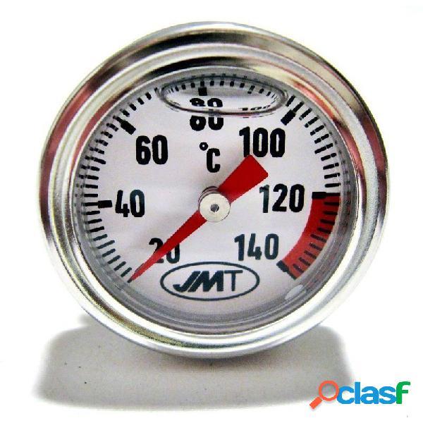 Termometro olio per Suzuki DR 750 S Big fondo bianco