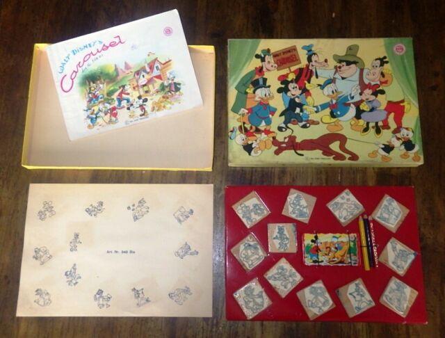 Timbri CAROUSEL Carousel Walt Disney Topolino Art. 348 Bis