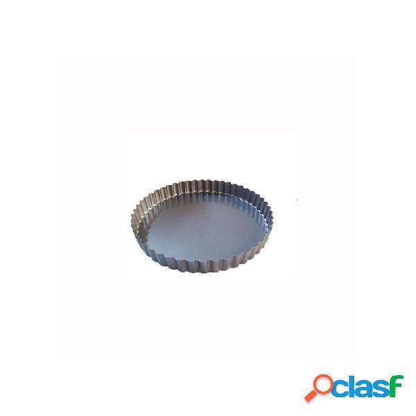 Tortiera Per Crostata De Buyer In Alluminio Cm 20 - Nero