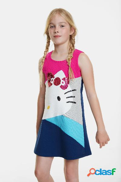 Vestito svasato Hello Kitty - RED - 3/4