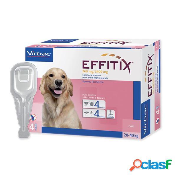 Virbac - Virbac Effitix Antiparassitario Per Cani Cani Da 4