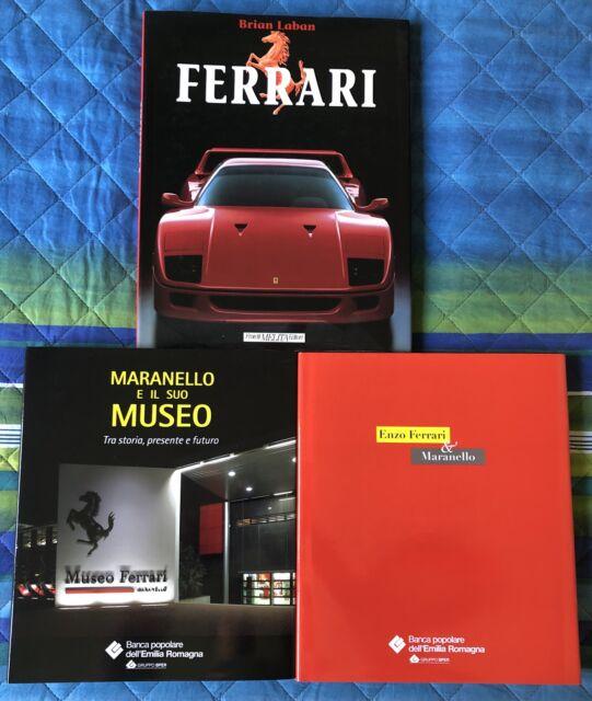 Libri storici da collezione della Ferrari