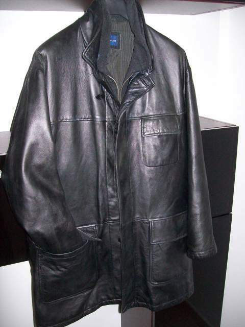 Giubbotto giacca giaccone vera pelle JC TWIDD M.54