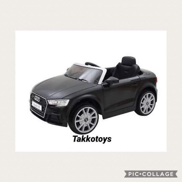 Auto macchina elettrica AUDI A3 cabriolet 12v