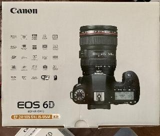 Canon eos 6d +  f4l is usm stabilizzato kit