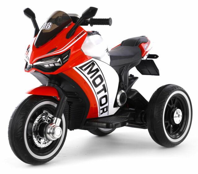 Moto Elettrica Per Bambini 12v Rolland Championchip Rosso