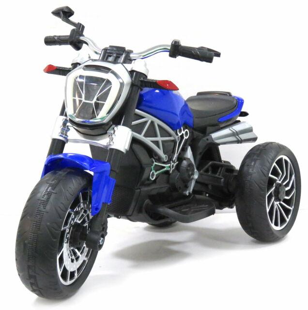 Moto Elettrica Per Bambini 12v Rolland Dragster Blu