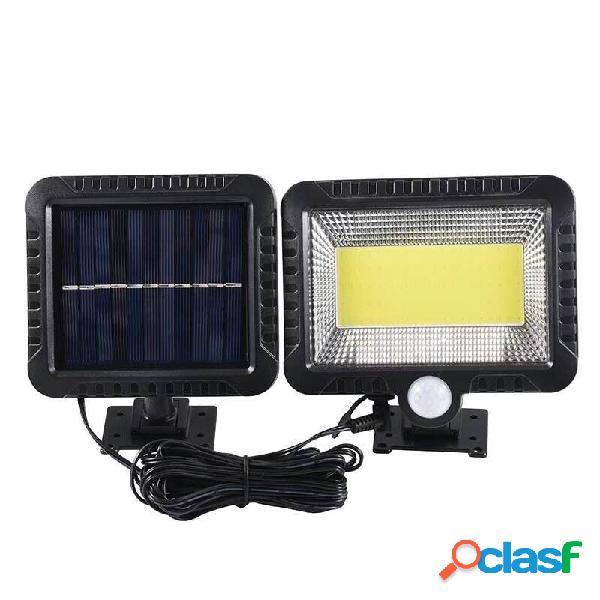 100LED solare PIR Lampada da parete Motion COB Outdoor