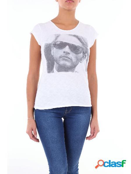 1921 TSHIRT.COM 1921 TSHIRT.COM t-shirt di colore bianco con