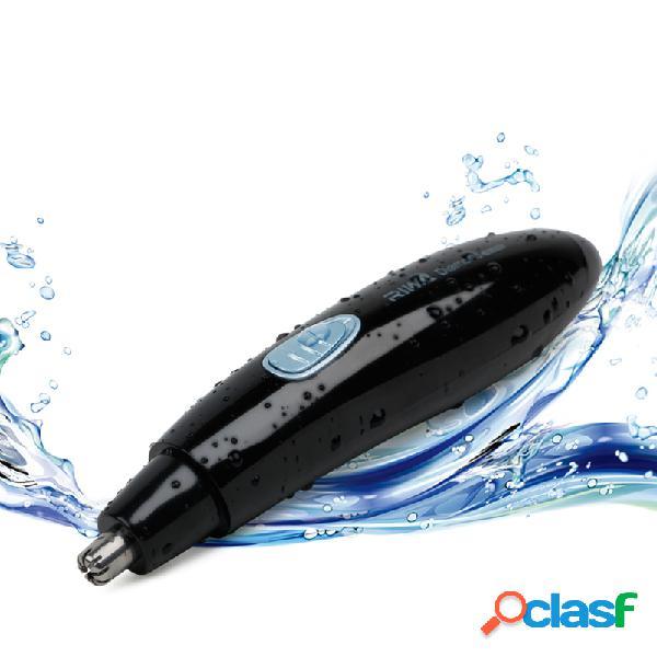 2 in 1 elettrico naso trimmer capelli impermeabile