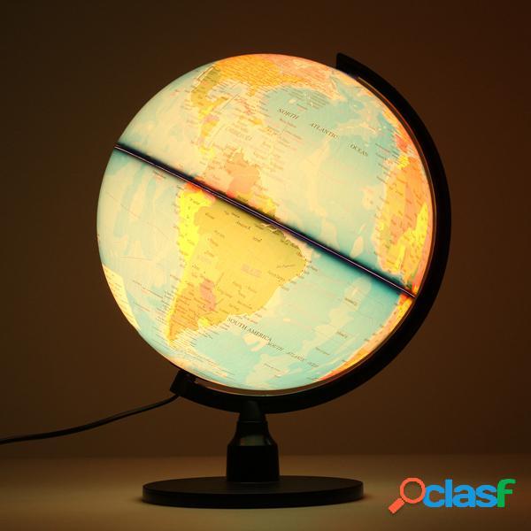 32cm creativo ha illuminato il globo di terra del mondo che