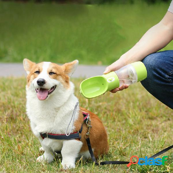 Alimentatore di acqua per animali domestici portatile per