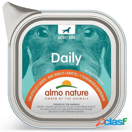 Almo nature daily menu pfc per cani gr 300 con vitello e