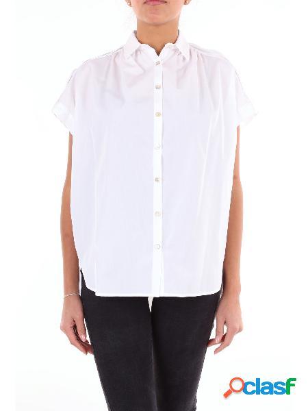 BARBA Barba camicia classica di colore bianco Camicie