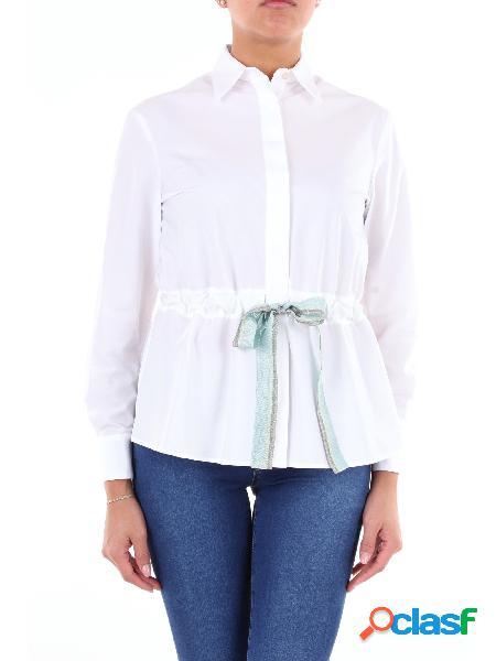 BARBA Barba camicia di colore bianco Camicie Casual Donna