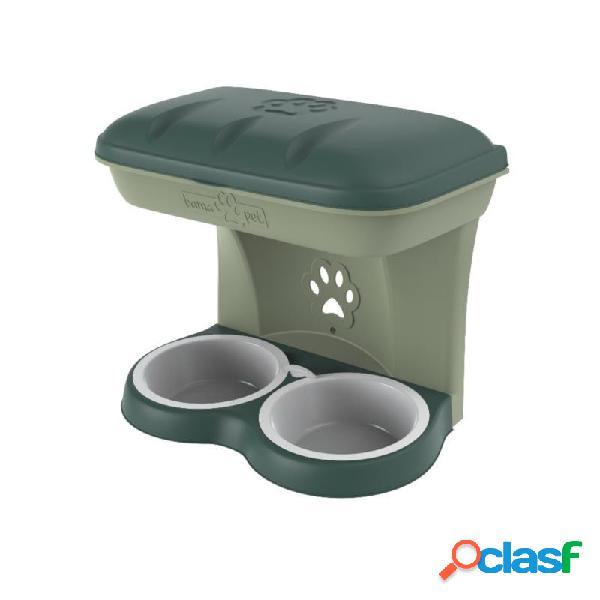 Bama Pet - Food Stand Ciotole Da Muro Per Cani Beige Misura