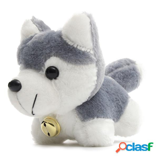 Bambola del fumetto del cane del husky farcito la