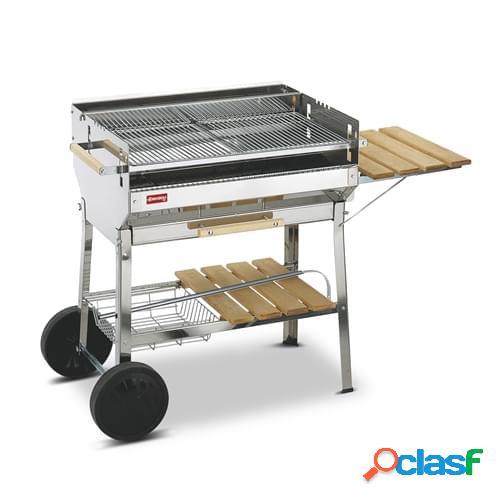 Barbecue a carbonella Ferraboli mod. Euro Inox in acciaio