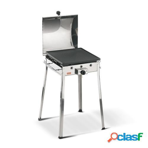 Barbecue a gas Ferraboli mod. Gas mono in acciaio inox con
