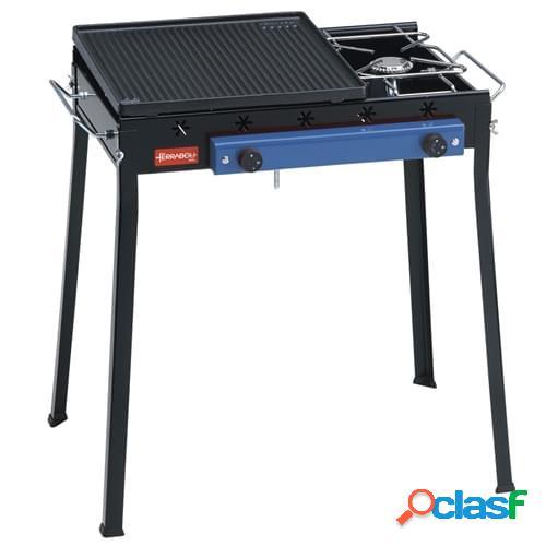 Barbecue a gas Ferraboli mod. Ghisa Gas Combinato