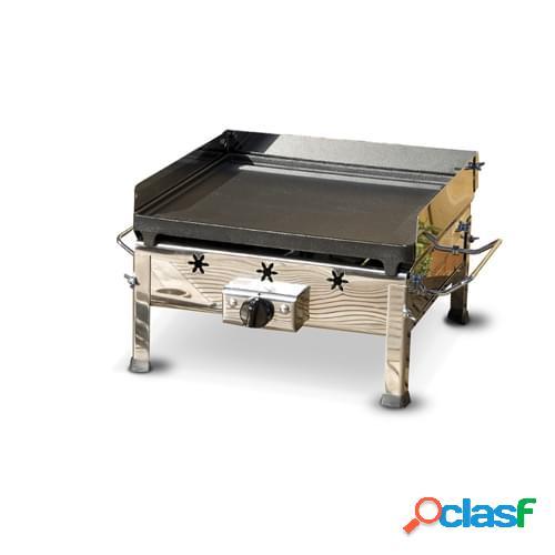 Barbecue a gas mod. Plancha in acciaio inox