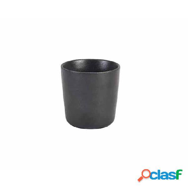 Bicchiere Forge In Ceramica Metallizzata Nero Cl 30 -