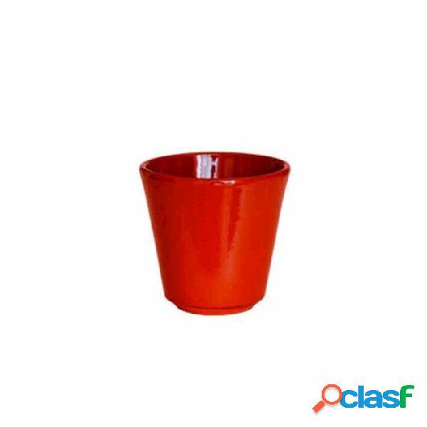 Bicchiere Rustic In Terracotta Marrone Cl 20 - Ceramica