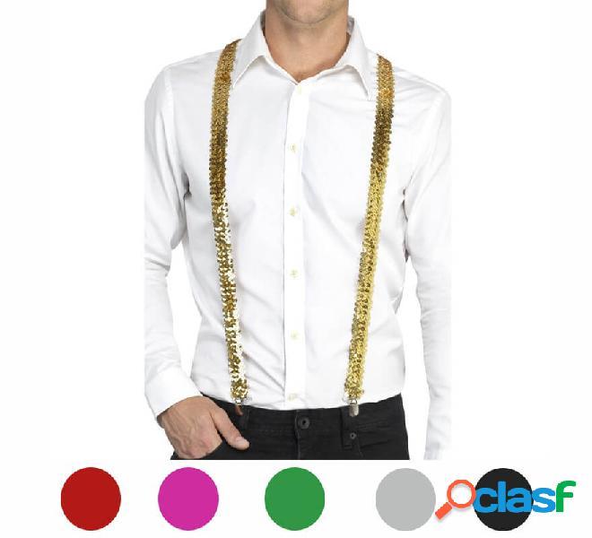 Bretelle con paillettes in vari colori