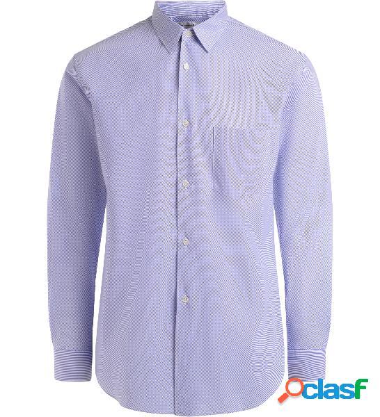 Camicia Comme des Garçons Shirt a bastoncino azzurro e