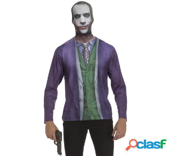 Camicia da uomo dark joker per uomo