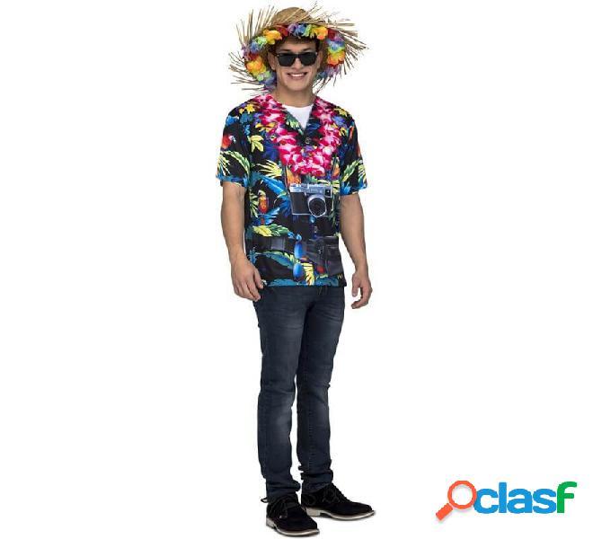 Camicia da uomo hawaiana per uomo