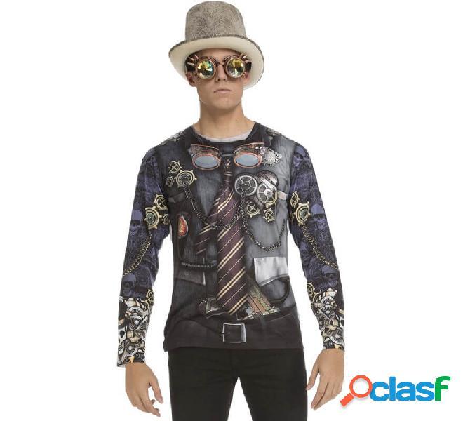 Camicia da uomo steampunk per uomo