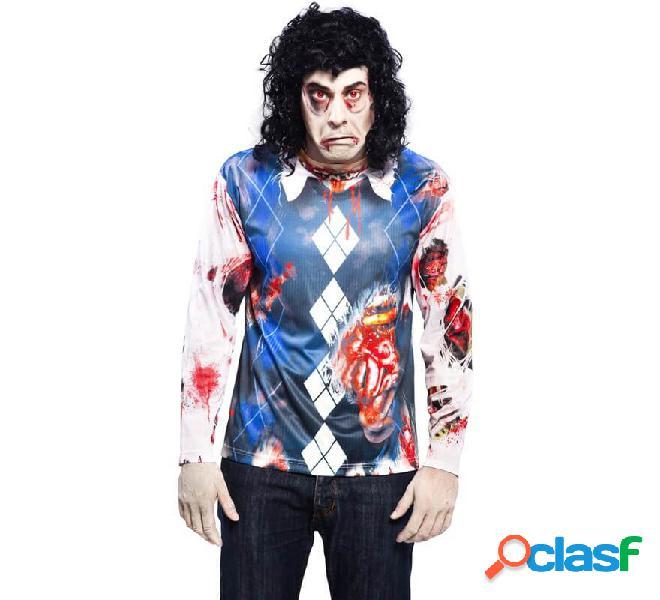 Camicia da uomo zombie per uomo per Halloween